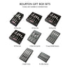 Bourton Bright Cutlery Set, 84 Piece for 12 People