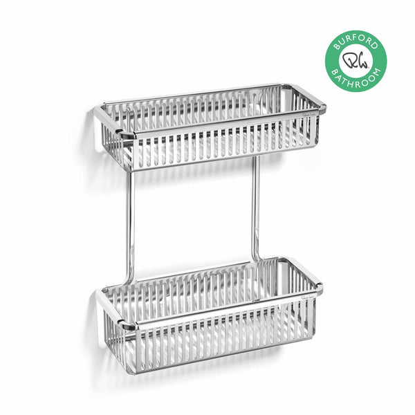 Burford Shower Basket Double