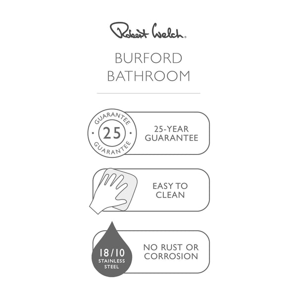 Burford Shower Basket Double - Information