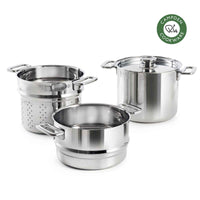 Campden Casserole Pot 5.3L and Pasta & Steamer Insert Set