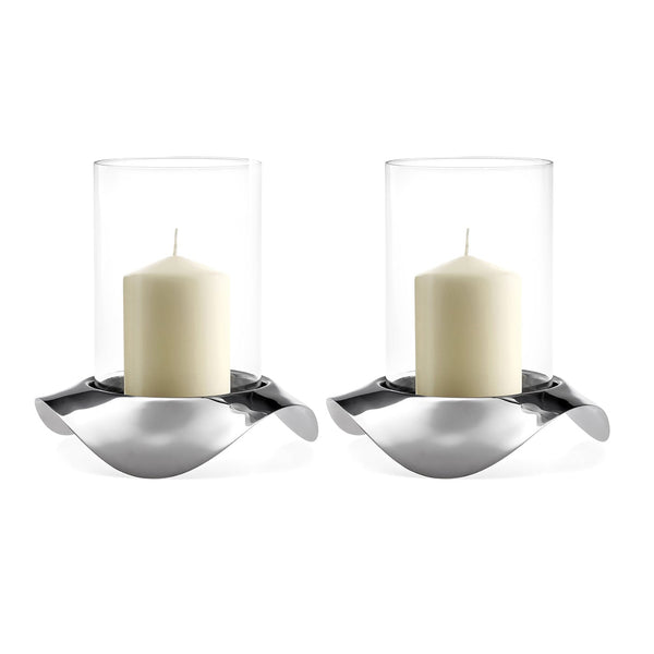 Drift Hurricane Lamp, Set of 2
