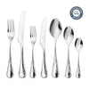 Honeybourne Bright Cutlery Set, 84 Piece for 12 People