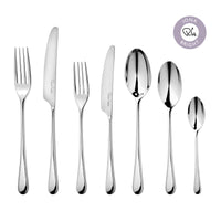 Iona Bright Cutlery Set, 56 Piece for 8 People