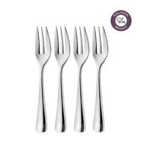 Malvern Bright Pastry Fork, Set of 4