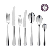 Malvern Bright Cutlery Set, 56 Piece for 8 People