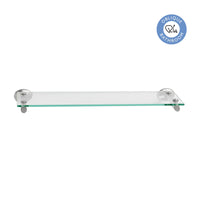 Oblique Glass Bathroom Shelf