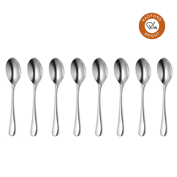 Radford Bright Coffee Spoon, Set of 8