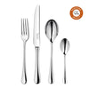 Radford Bright Cutlery Set, 27 Piece for 6 People including 3 Piece Cheese Set