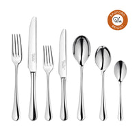 Radford Bright Cutlery Set, 56 Piece for 8 People