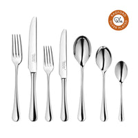 Radford Silver Plated Cutlery Set, 56 Piece for 8 People