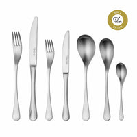 RW2 Satin Cutlery Set, 56 Piece for 8 People