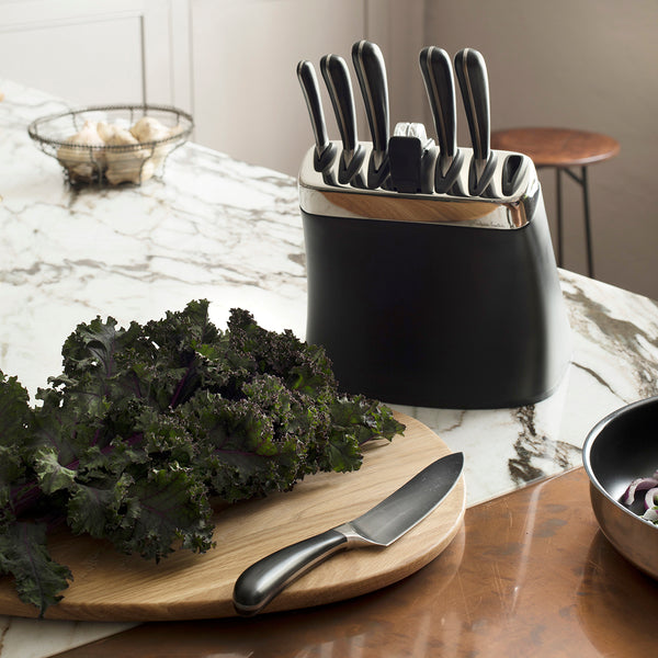 Signature Knife Block Set with Sharpener