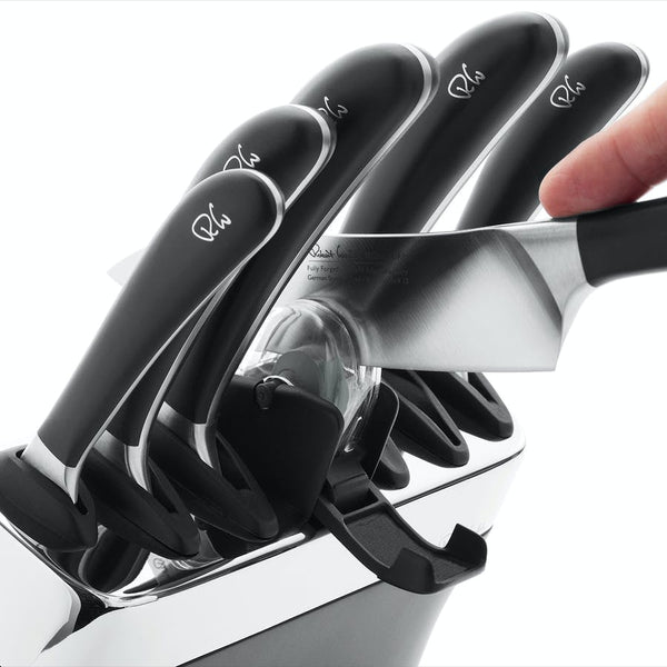 Signature Knife Block Set - Sharpener