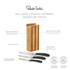 Signature Book Oak Cook's Set - Free Knife Sharpener