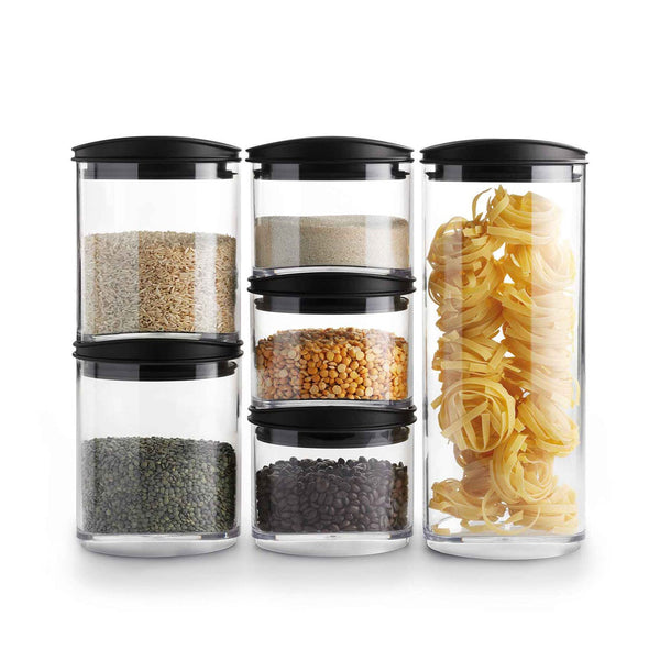 Signature Storage Jar Set, 6 Piece Set
