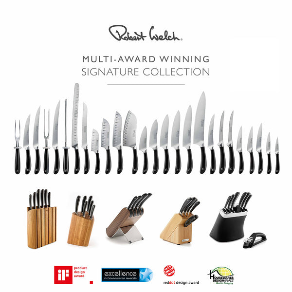 Signature Q Knife Block Set Walnut