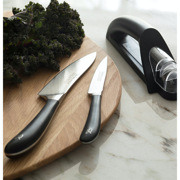 Signature Kitchen Knife Set with Knife Sharpener