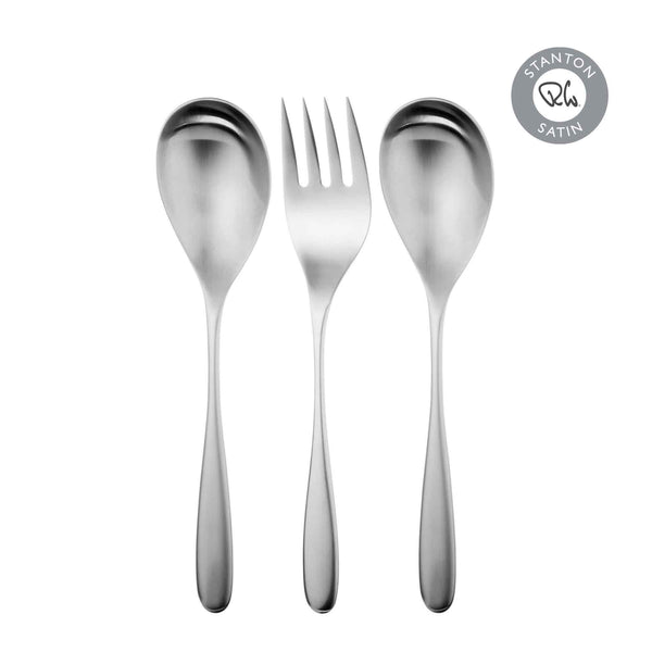 Stanton Satin Serving Set, 3 Piece