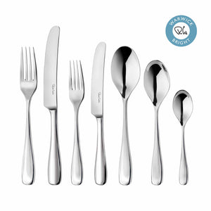 Warwick Bright Cutlery Set, 56 Piece for 8 People