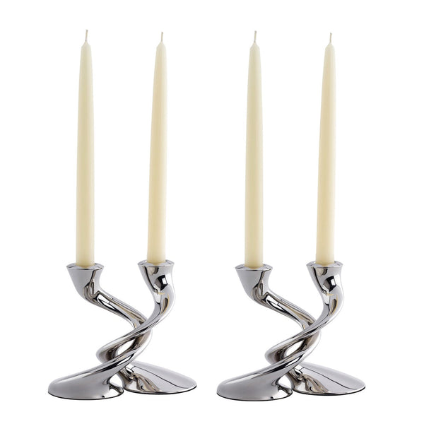 Windrush Candlestick, Set of 4 - With Candle