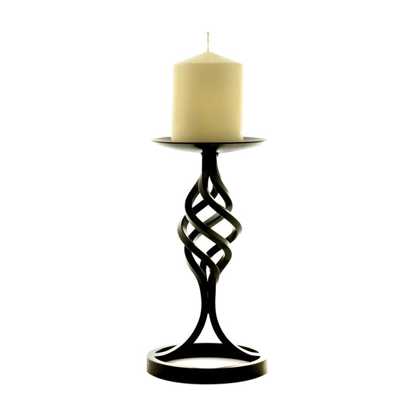 Dryad 4 Strand Candlestick Medium Black