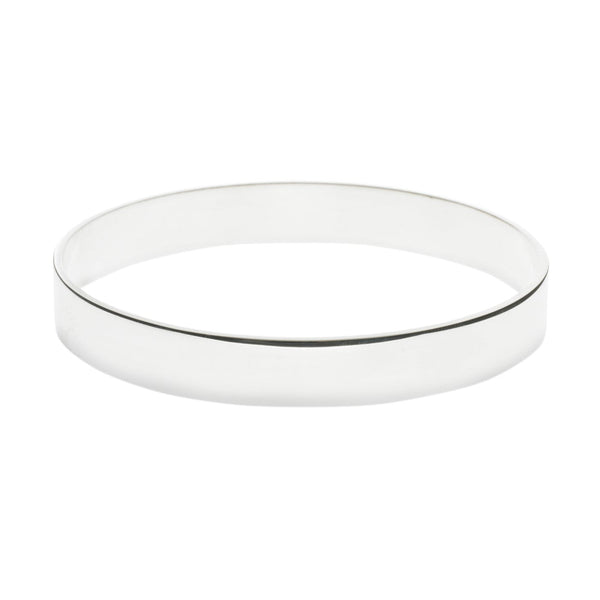 Silver Bangle Polished Small
