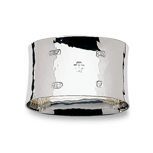 Sterling Silver Napkin Ring Flared