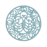Octopus & Fish Trivet Light Blue