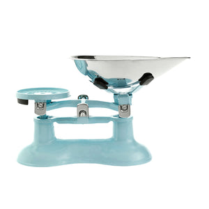 Scales Traditional Light Blue with Chrome Pan