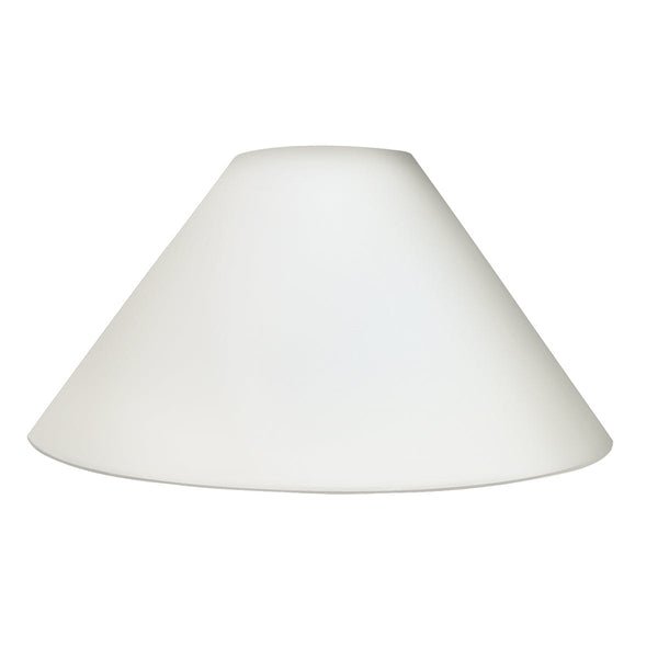 Ivory French Empire Shade 18""