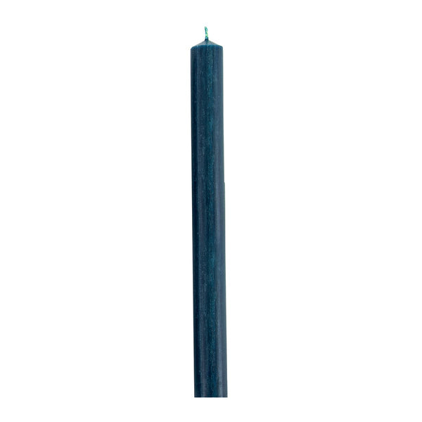 Bedruthan Blue Candle 25cm