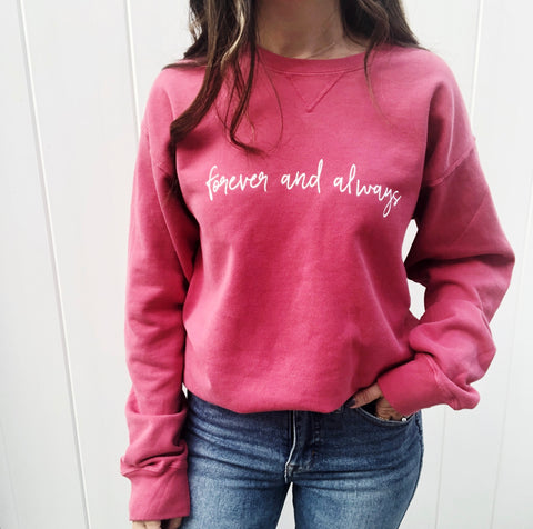 FOREVER AND ALWAYS PULLOVER
