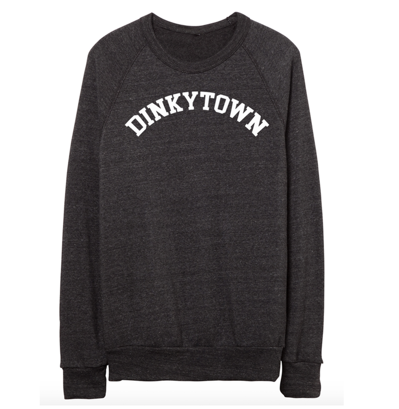 DINKYTOWN Sweatshirt Collaboration with Jessica Garvin