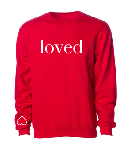 -BRAND NEW - YOU ARE LOVED PULLOVER