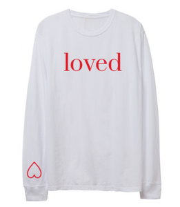 -BRAND NEW - YOU ARE LOVED LONG SLEEVE TSHIRT
