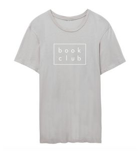 BOOK CLUB ORGANIC TSHIRT