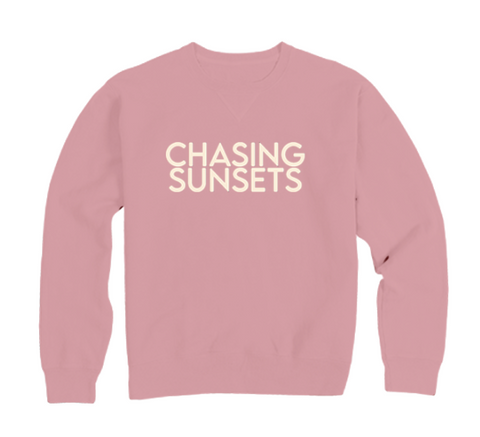 BRAND NEW CHASING SUNSETS PULLOVER
