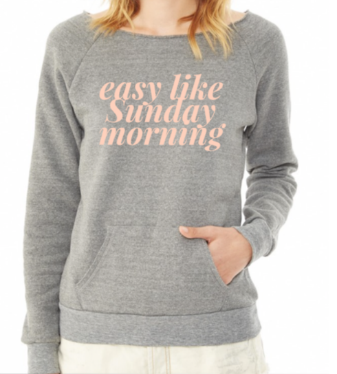SALE: Easy Like A Sunday Morning