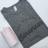 BRAND STINKING NEW THE FOURTH SANDERSON SISTER TSHIRT COLLAB W JESSICA GARVIN