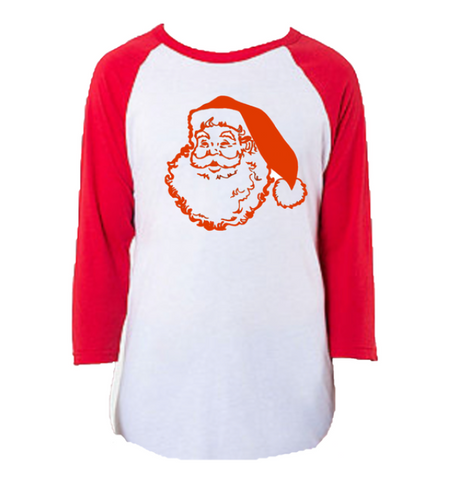 Christmas The REAL Santa Raglan