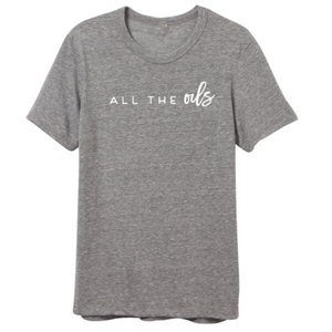ALL THE OILS TSHIRT COLLAB WITH JESSICA GARVIN