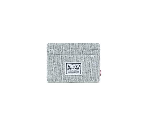 Herschel Charlie RFID Wallet - Light Grey Crosshatch