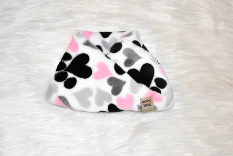 Paws and Kisses - Dog Scarf