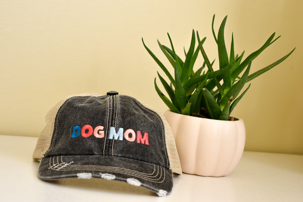 Colorful Dog Mom Hat