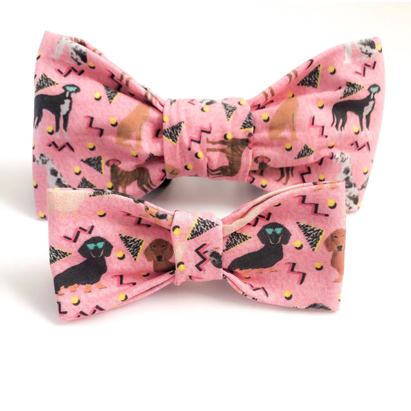 90's Baby Dog Bow Tie - Dope Dog Co