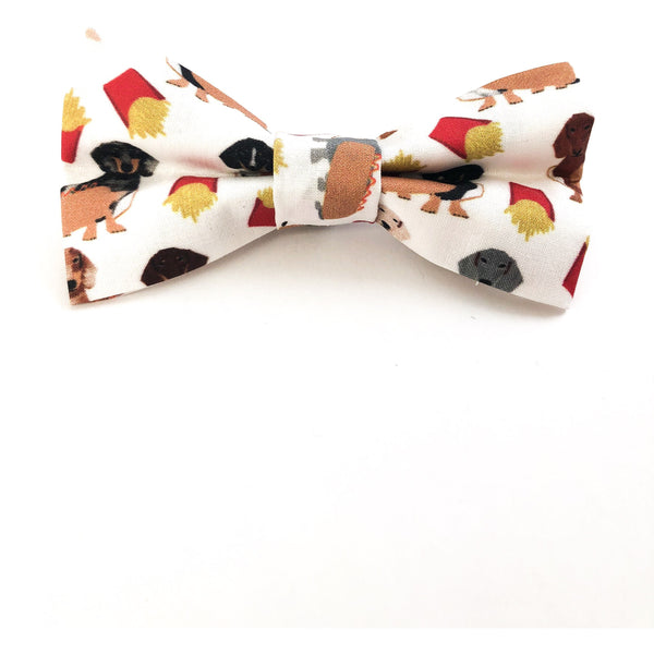 Backyard BBQ Dachshund Bow Tie