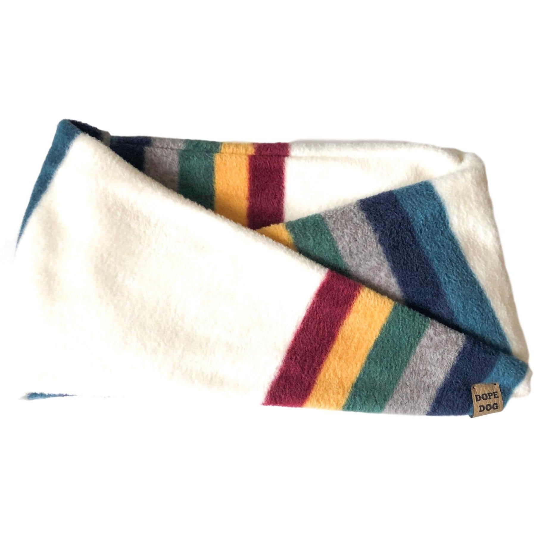 Follow The Rainbow Dog Scarf