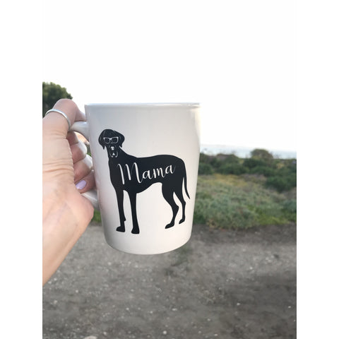 Great Dane Mama Coffee Mug - Dope Dog Co