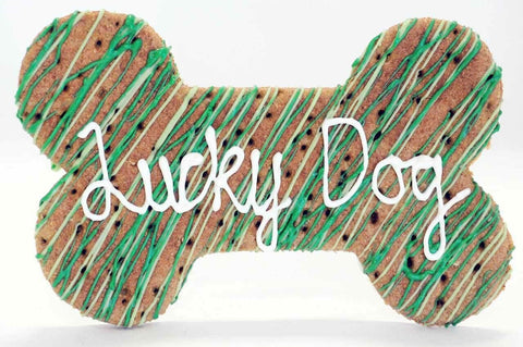 Lucky Dog Giant Cookie