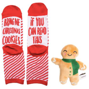 Bring Me Christmas Cookies - Sock & Dog Toy Set